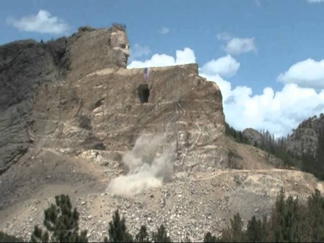 Crazy Horse Memorial Independence Day Blast July 4, 2014