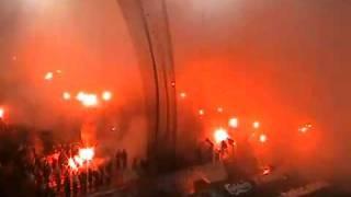 Infierno Griego-Olympiakos vs Panathinaikos 2011