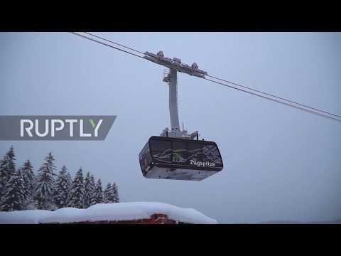 Germany: Record-breaking Zugspitze cable car opens for service