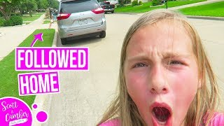 SOMEONE FOLLOWED ME HOME FROM SCHOOL...SUPER CREEPY | Scott and Camber