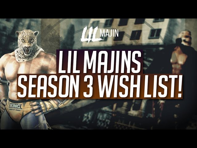 Lil Majin Tekken 7 Season 3 Wishlist Youtube
