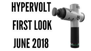 Hypervolt Massage Gun Review  | First look and try in Singapore