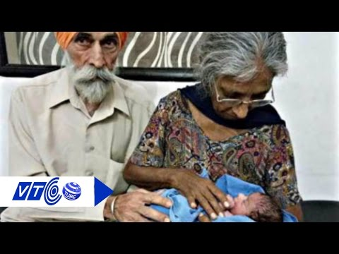 Cụ bà sinh con đầu lòng ở tuổi 72 | VTC