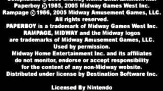 Game Boy Advance Paperboy, Rampage