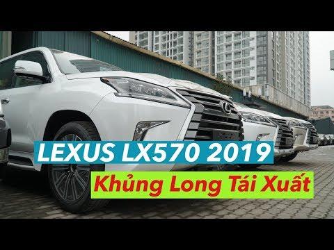 LEXUS LX570, LX570 2019...KHỦNG LONG TÁI XUẤT
