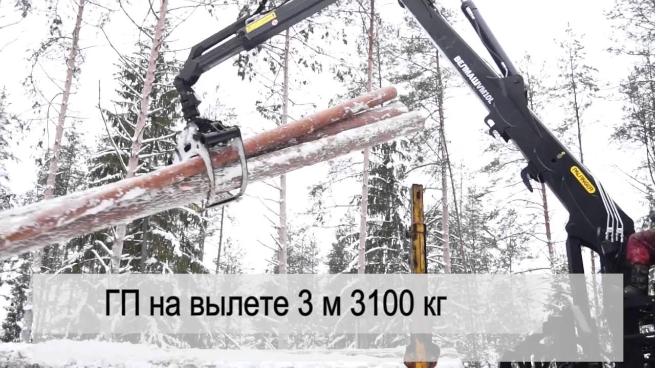 Новый манипулятор для леса ВЕЛМАШ VM10