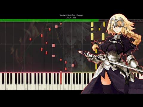 [Synthesia] Fate/Apocrypha Ending 2『Koe - ASCA』[piano]