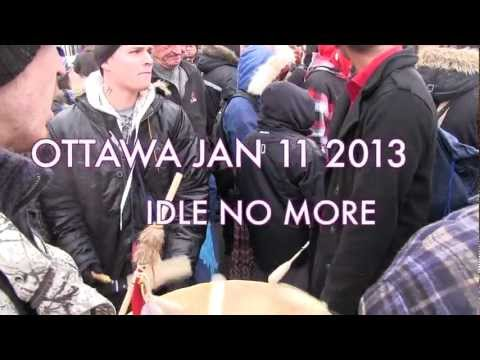 At the Doors to the Government of Canada: Idle No More