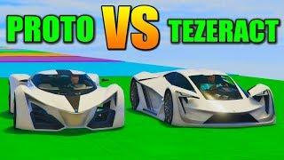 TEZERACT vs PROTO! TEST DE VELOCIDAD!! - GTA V ONLINE - GTA 5 ONLINE