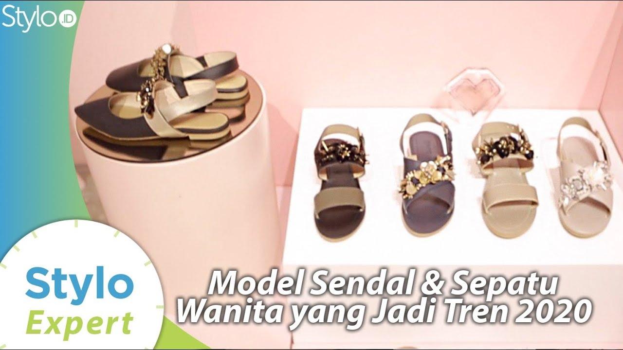 Sandal Sepatu Wanita Model Terbaru Yang Jadi Tren Fashion 2020