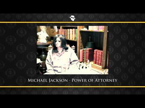 Michael Jackson to Dieter Wiesner-  Power of Attorney