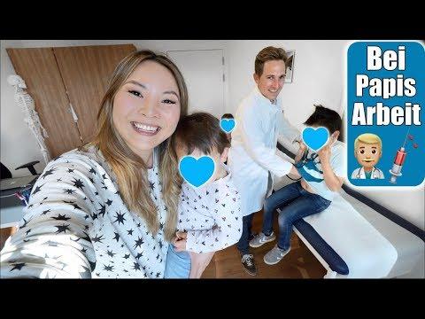 Wir besuchen Justus bei der Arbeit 👨🏼⚕️ Untersuchung beim Arzt mit 3 Kindern   VLOG   Mamiseelen
