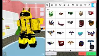 how to make a hazmat suit in roblox h