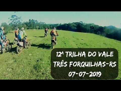 12ª TRILHA DO VALE - 07/07/2019 - TRÊS FORQUILHAS - RS