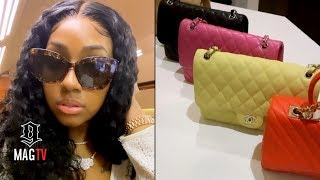 Yung Miami Packs All Designer For Her B-Day Vacation! 👜