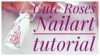 💅💅 Summer Nails 💅💅 :: Easy Roses :: Nailart by Natalia