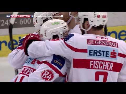 Erste Bank Eishockey Liga 17/18. 19. Runde:  Black Wings Linz - EC KAC 2:3
