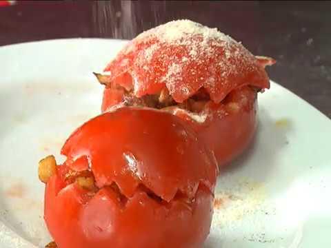 Ранок-панок. Світлана Бурчак. Фаршировані помідори з овочами