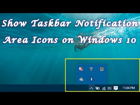 How to change the notification area settings on Windows from YouTube · Duration:  3 minutes 34 seconds