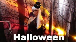 Halloween celebrating the death | Halloween makeup