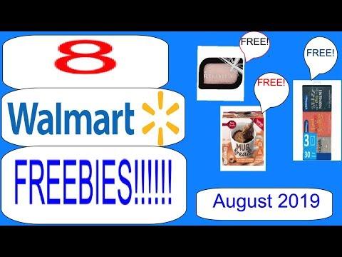 8 WALMART FREEBIES! (+ OTHER DEALS!)- August 2019