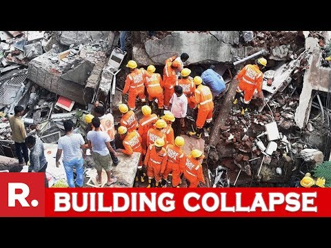 Mumbai Building Collapse: Rescue Efforts In Action