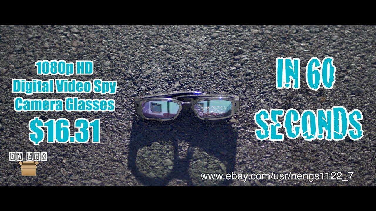 0a5180767933 Da Box (Unboxing  38) 1080p HD Digital Video Spy Camera Glasses ...