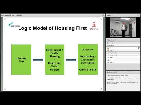 2017.11.23 - Dr. Tim Aubrey, Developing Housing First recommendations for homeless health guidelines