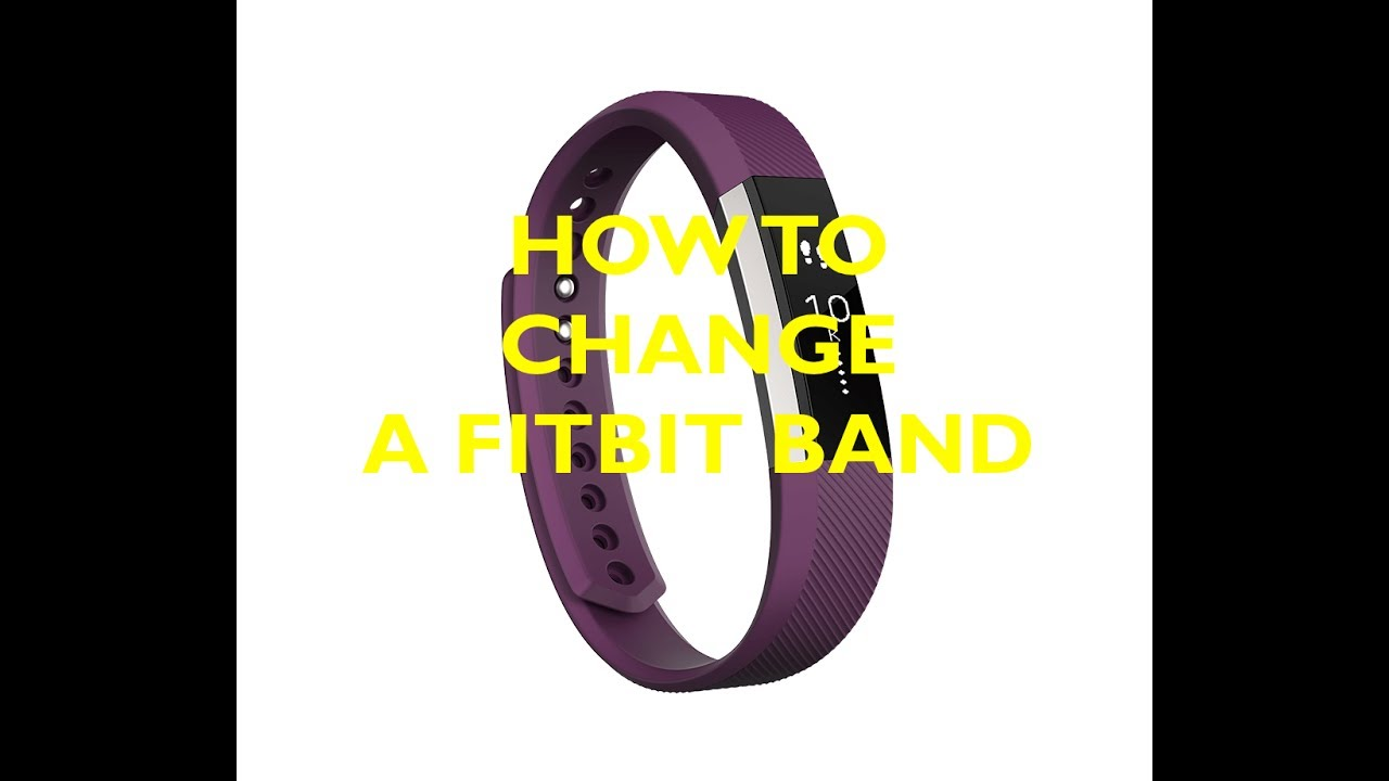 how to change your fitbit band