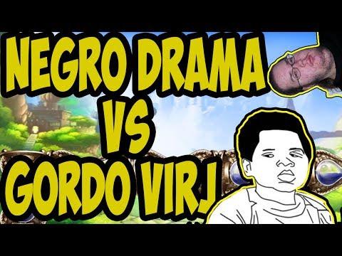 Nego drama vs Gordo virgem