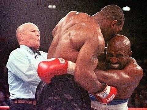 Download Tyson Vs. Holyfield ear bite round - 1997 06 28 - Tyson oreja