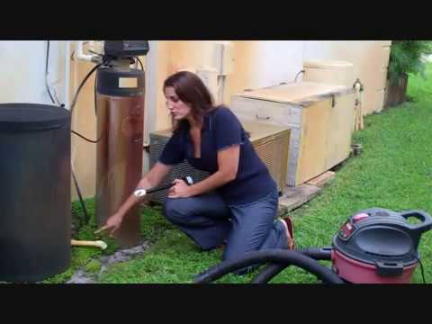 How To Clean Out Your Ac Condensate Drain With A New Wet