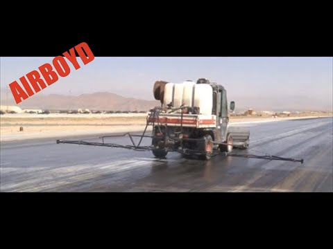 Runway Rubber Removal Maintenance