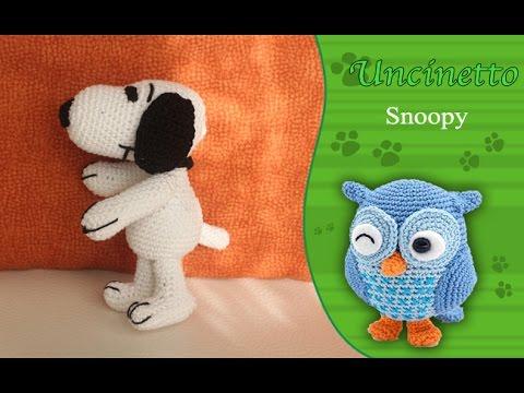 Amigurumi Tutorial Snoopy : Uncinetto amigurumi : snoopy youtube