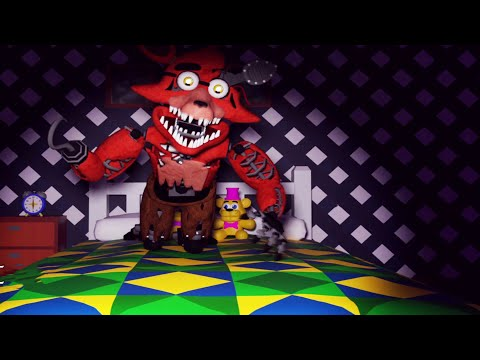 WITHERED FOXY IS HIDING UNDER MY BED! Five Nights at Freddy's: The Twisted Sister