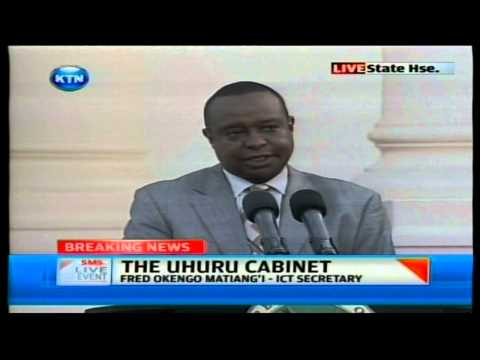 Uhuru unveils 4 nominees as Cabinet Secretaries