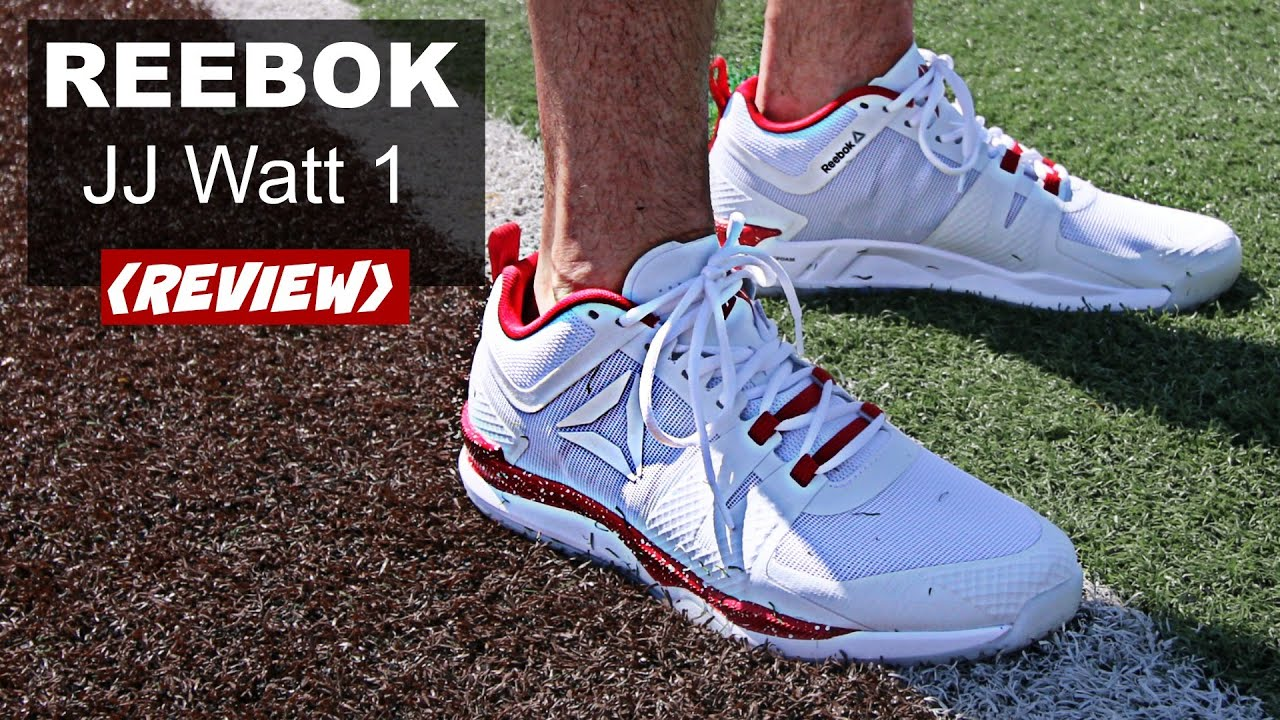 8c94ddbdb262 Reebok JJ Watt 1 Shoes REVIEW - YouTube