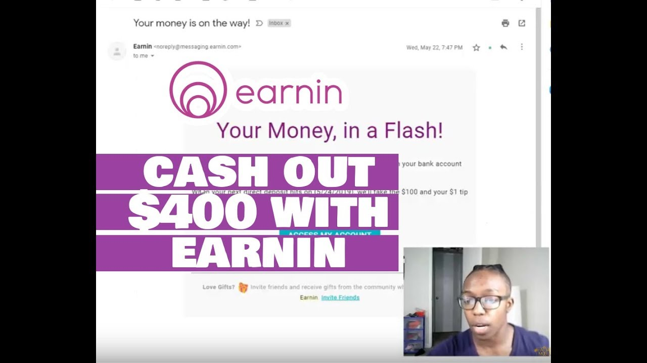 Cash Out $400 with Earnin App – Easy Money