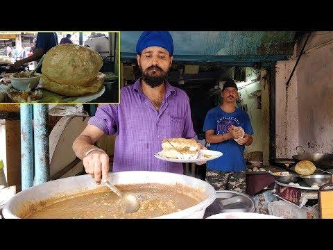 SETHI BROTHERS BHATURE CHOLE\PURI CHOLE IN MUMBAI | INDIAN STREET FOOD