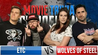 Wolves Of Steel Vs ETC - Movie Trivia Team Schmoedown