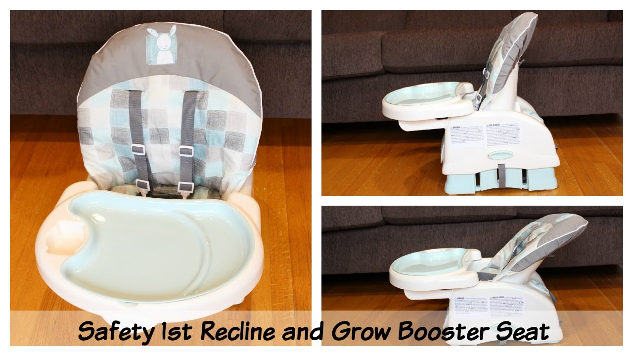 Booster Seat High Chair Fishing Side Table More Then A Travel Safety 1st Recline Grow Review Youtube