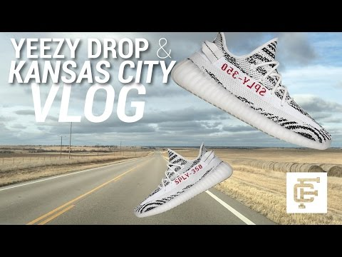 YEEZY ZEBRA, PG1 DROP & KANSAS CITY VLOG