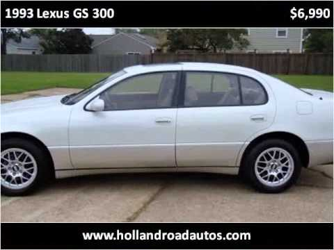1993 lexus gs 300 used cars virginia beach va youtube. Black Bedroom Furniture Sets. Home Design Ideas