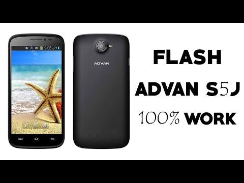 Cara Flash Advan S5J 100% Work (+Firmware, Driver, Flashtool)