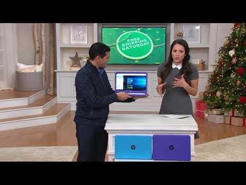 HP Stream 14 Laptop 4GB RAM 32GB Windows10 MS Office 365 W/ Software On QVC