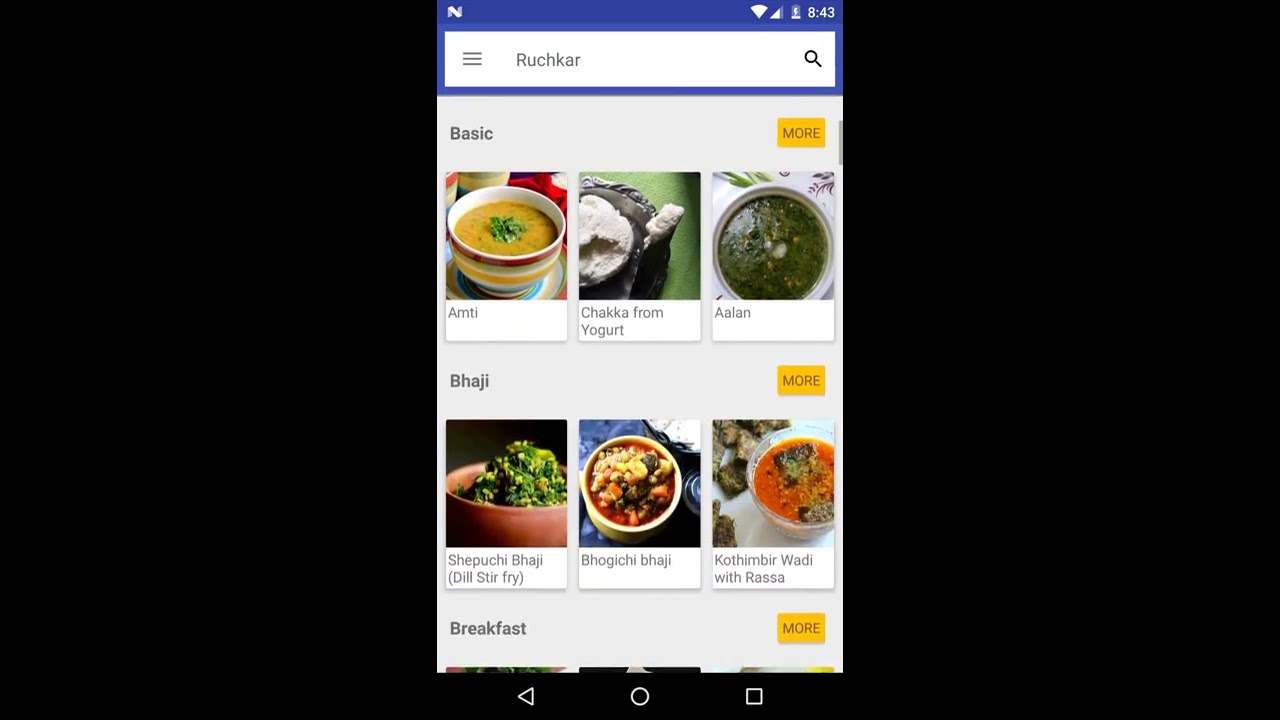 Ruchkar indian recipes android app promo video youtube ruchkar indian recipes android app promo video forumfinder Images
