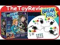 Spy Code Break Free Yulu Board Game Handcuffs Escape Race Unboxing Toy Review by TheToyReviewer
