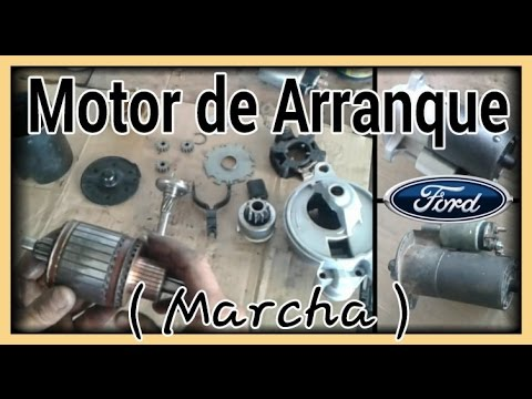 Motor De Arranque Ford Youtube