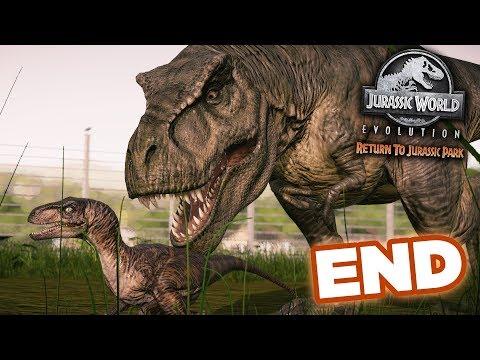 Release The T.Rex + Giveaway!!! - Jurassic World Evolution - Return To Jurassic Park    FINALE HD