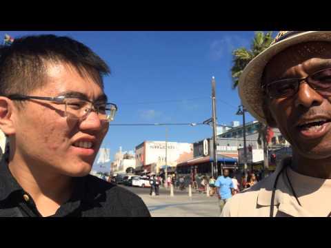 Liu Yang's interview in Venice Beach